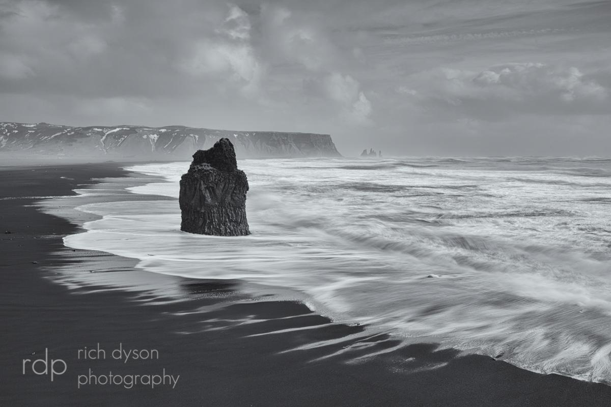 Dyraholey Black Beach