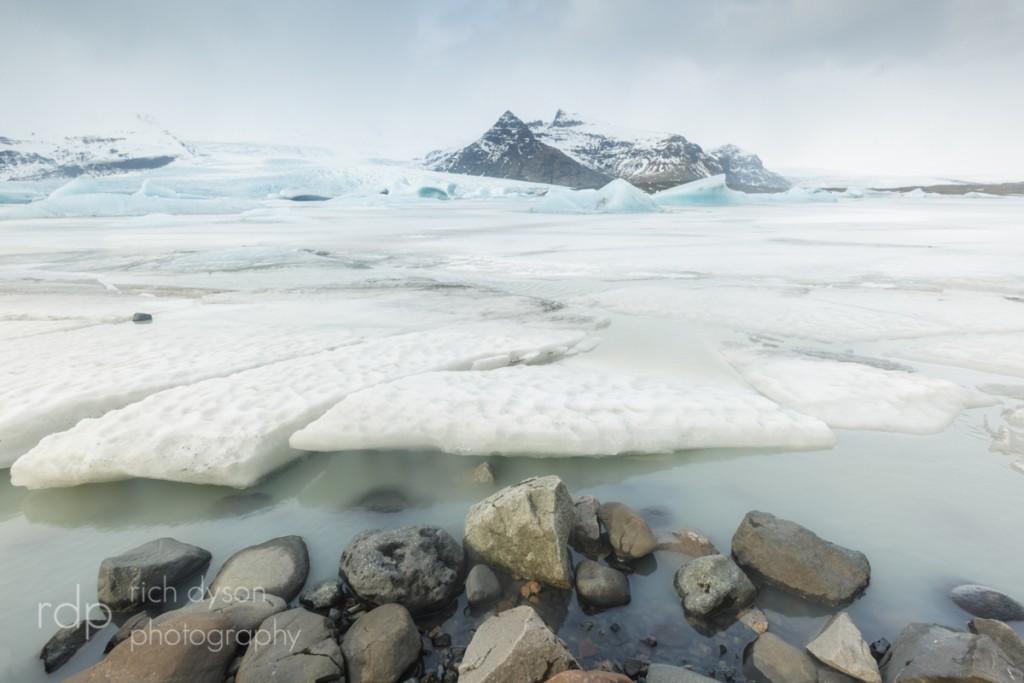 Secret Glacier Lagoon