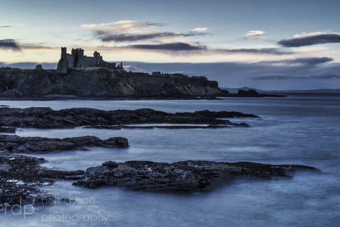 Tantallon Castle from Seacliffe
